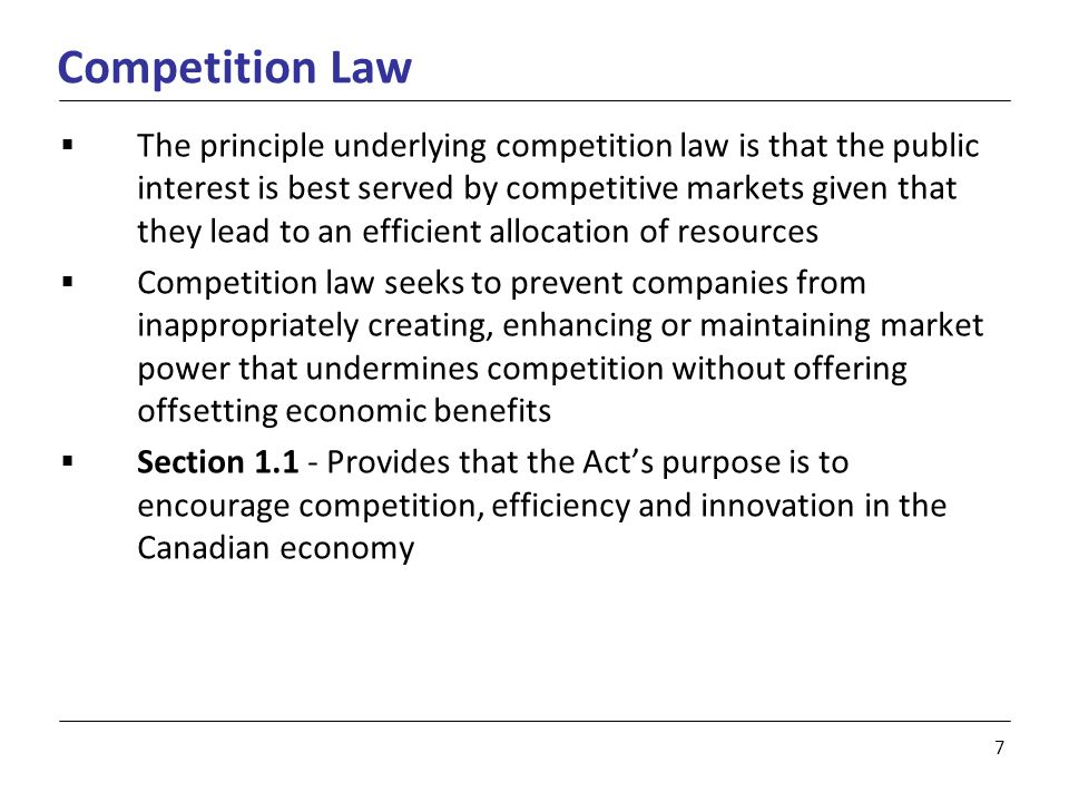 18 Reverse Payments in Canada Competition Act versus IP Rights  A patent, by its nature, results in a lessening of competition by granting the patentee the right to exclude others  Eli Lilly v.