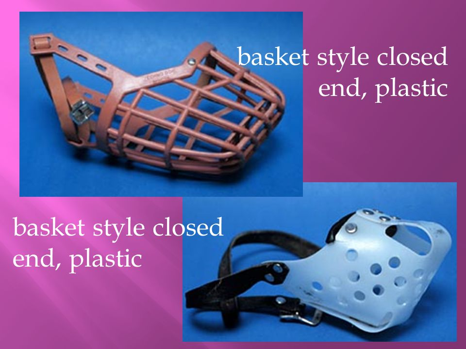 basket style closed end, plastic