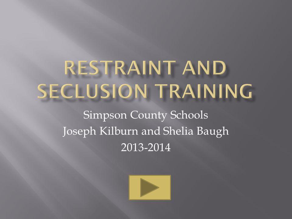 Simpson County Schools Joseph Kilburn and Shelia Baugh 2013-2014