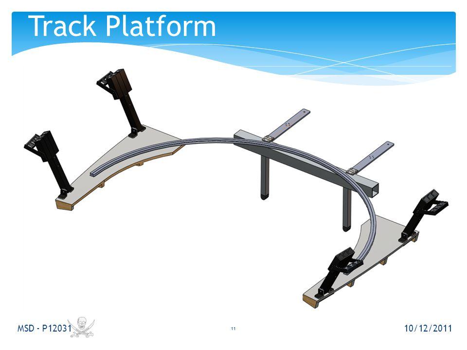 10/12/2011 MSD - P12031 11 Track Platform
