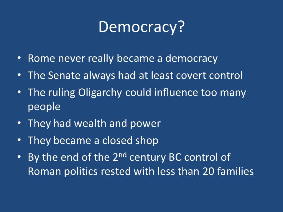 Democracy.