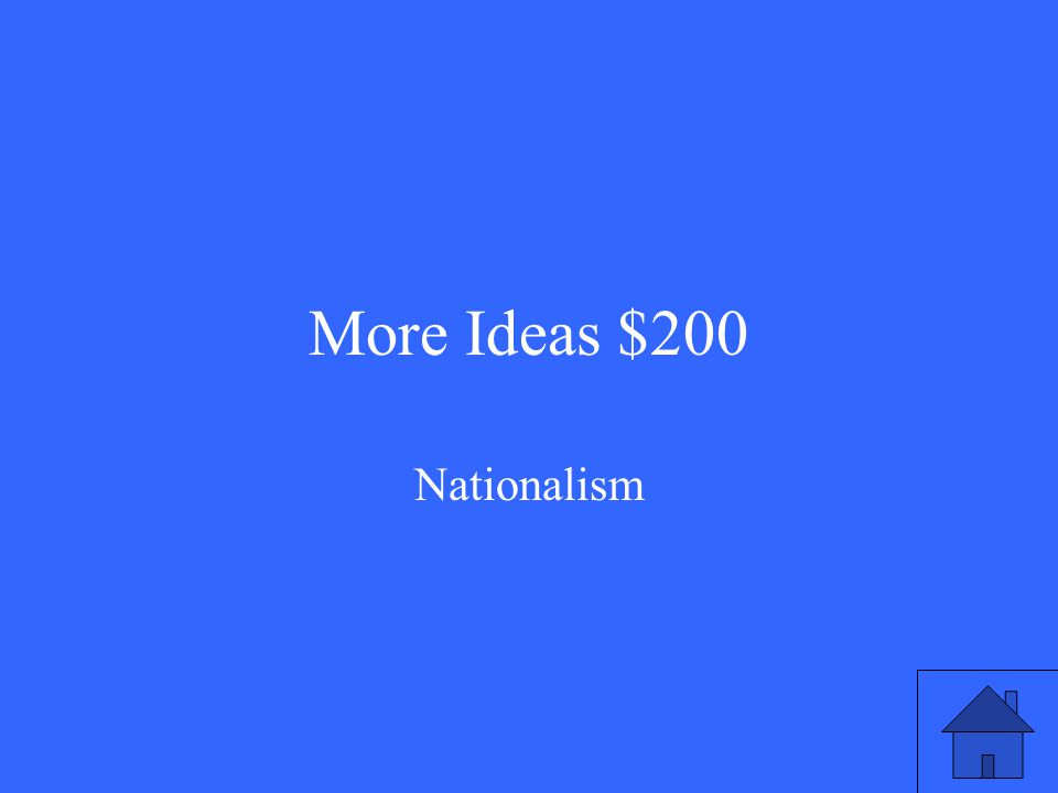 More Ideas $200 Nationalism