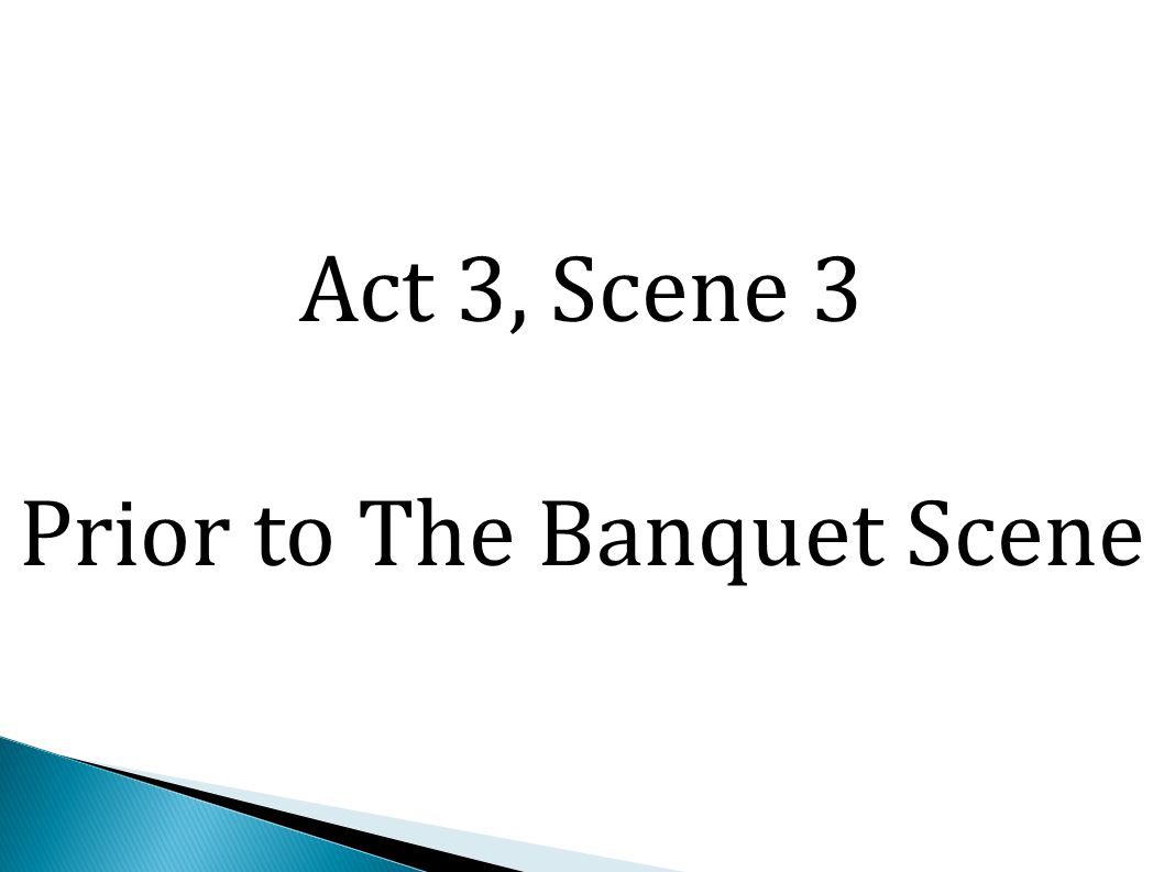 Macbeth does take some comfort that Banquo and Fleance are mortal and can be killed.
