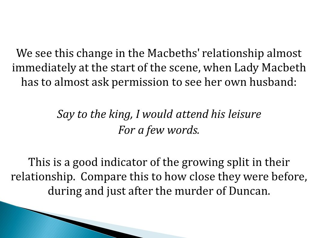 Again, Lady Macbeth attempts her tried and tested tactic of calling him a coward: What, quite unmann d in folly.