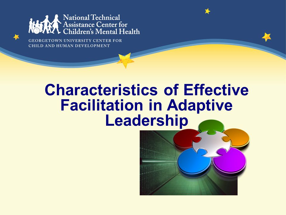 Characteristics of Effective Facilitation in Adaptive Leadership