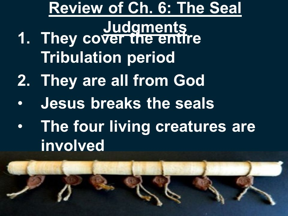 Review of Ch.6: The Seal Judgments 3.The Rider on the white horse is Jesus Crown of Ch.
