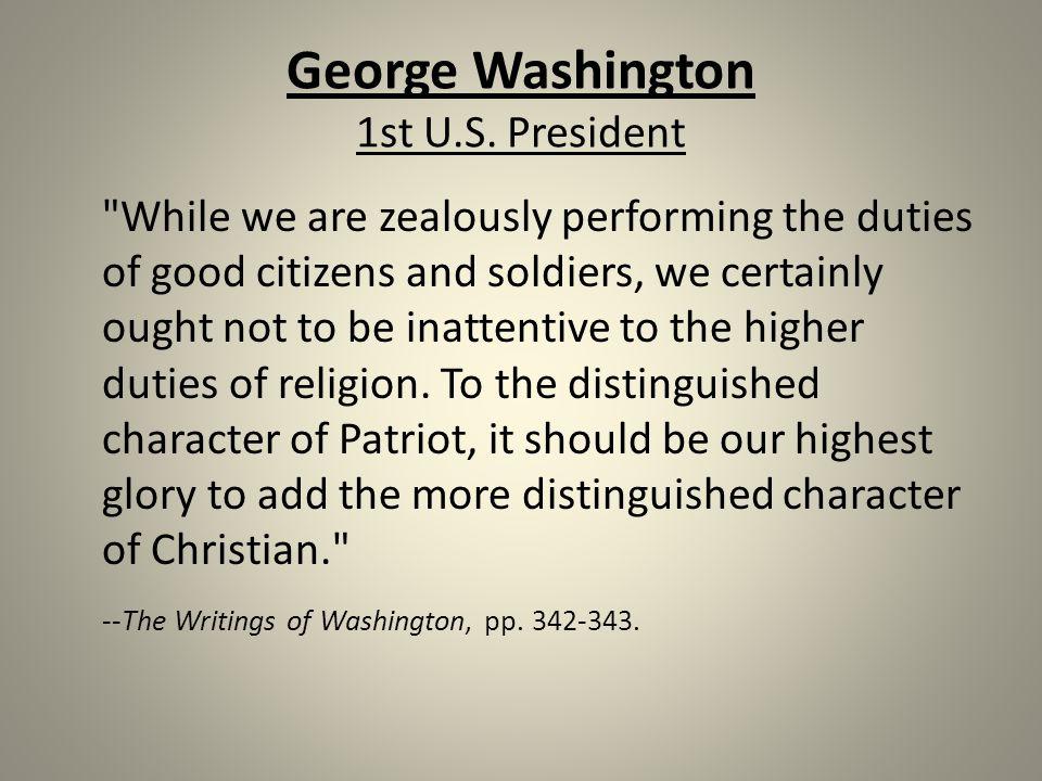 George Washington 1st U.S.