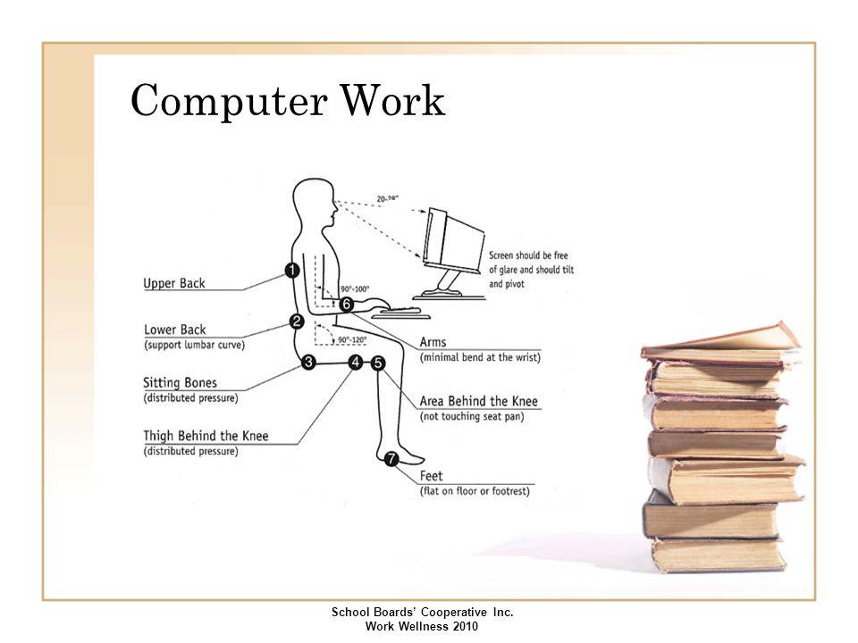 Computer Work School Boards' Cooperative Inc. Work Wellness 2010