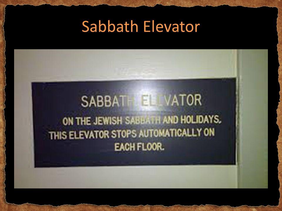 Sabbath Elevator