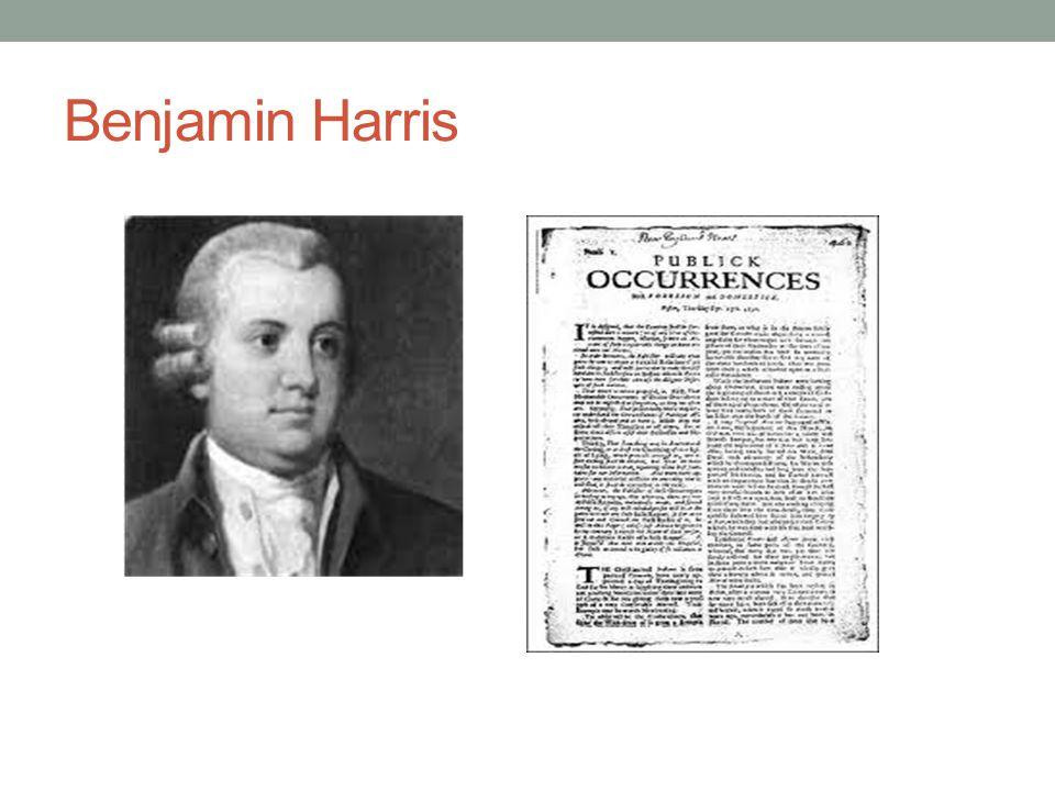 Benjamin Harris