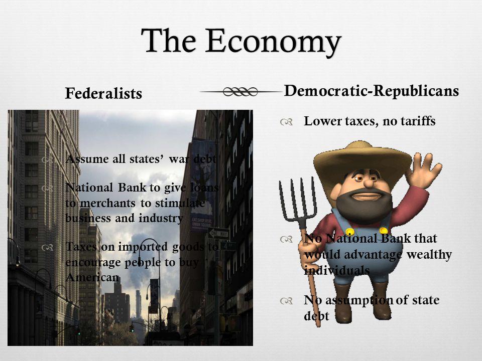 The PeopleThe People FederalistsDemocratic-Republicans