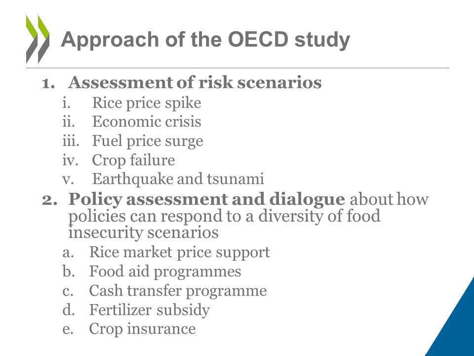 For more information Visit our website: www.oecd.org/agriculture Contact us: tad.contact@oecd.org Follow us on Twitter: @OECDagriculture 16 Trade and Agriculture Directorate