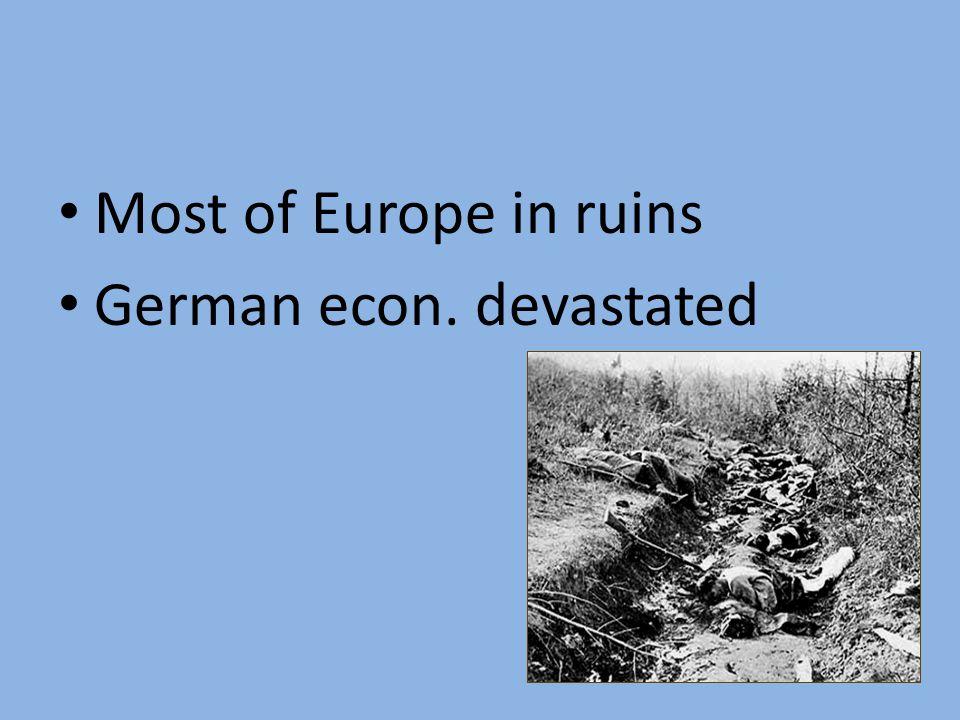 World War I Casualties