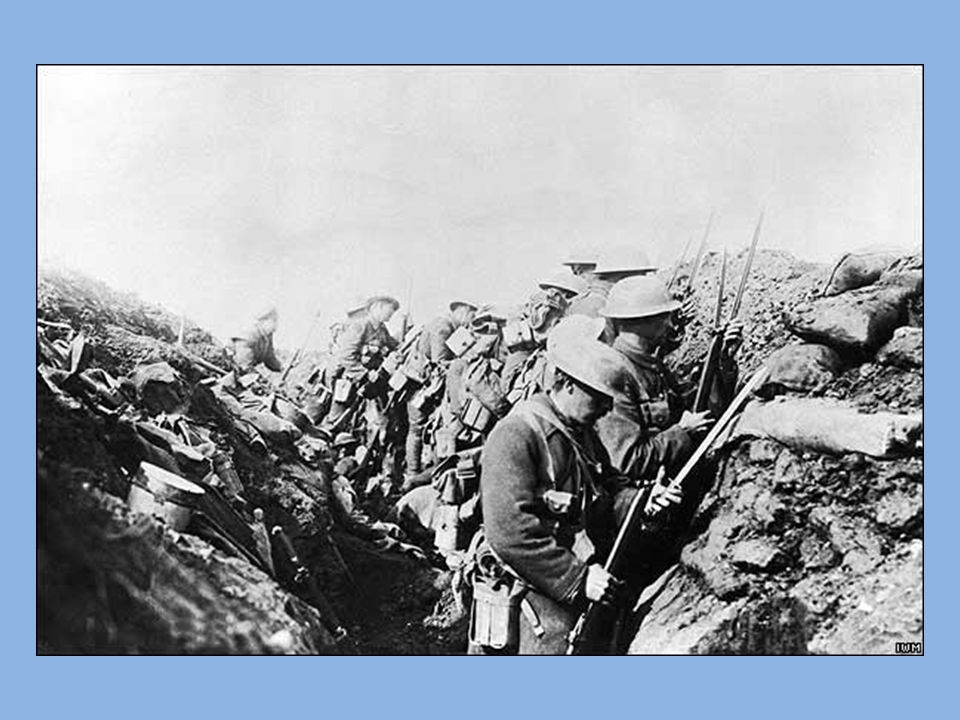 Turkish soldiers in the trenches