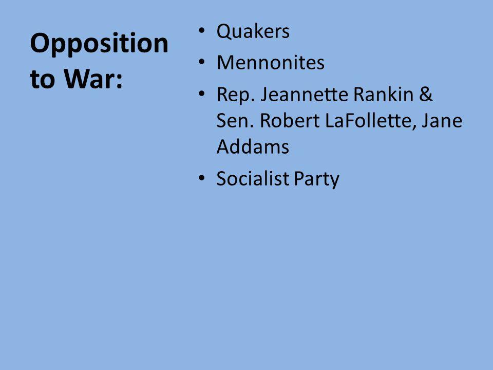 Apr. 1917—Congress declares war