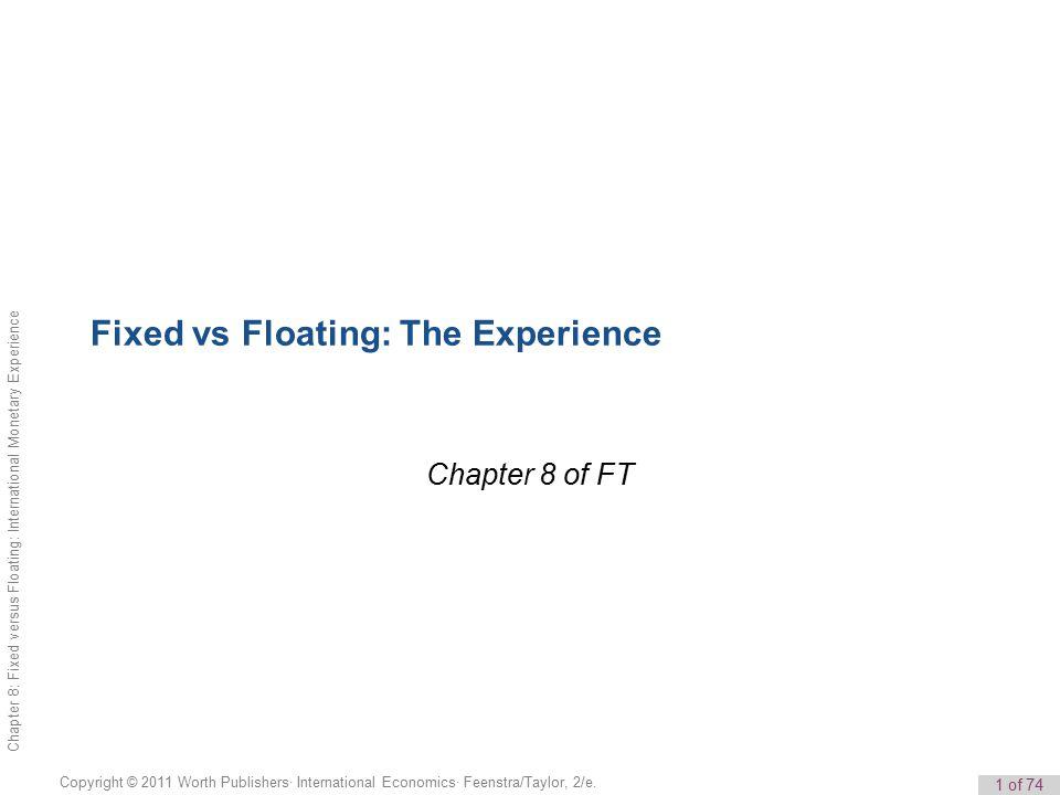 1 of 74 Copyright © 2011 Worth Publishers· International Economics· Feenstra/Taylor, 2/e.