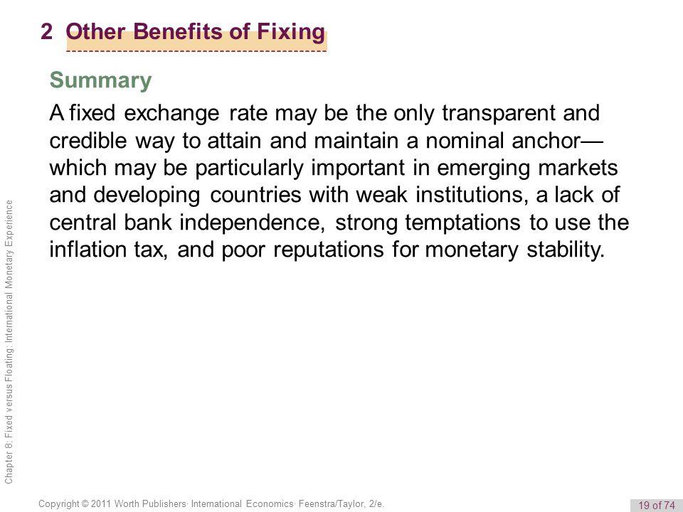 19 of 74 Copyright © 2011 Worth Publishers· International Economics· Feenstra/Taylor, 2/e.