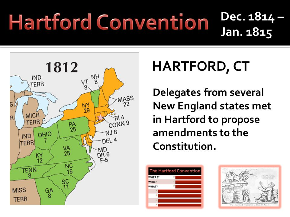 WHERE?Hartford, CT WHO?Federalists WHAT.