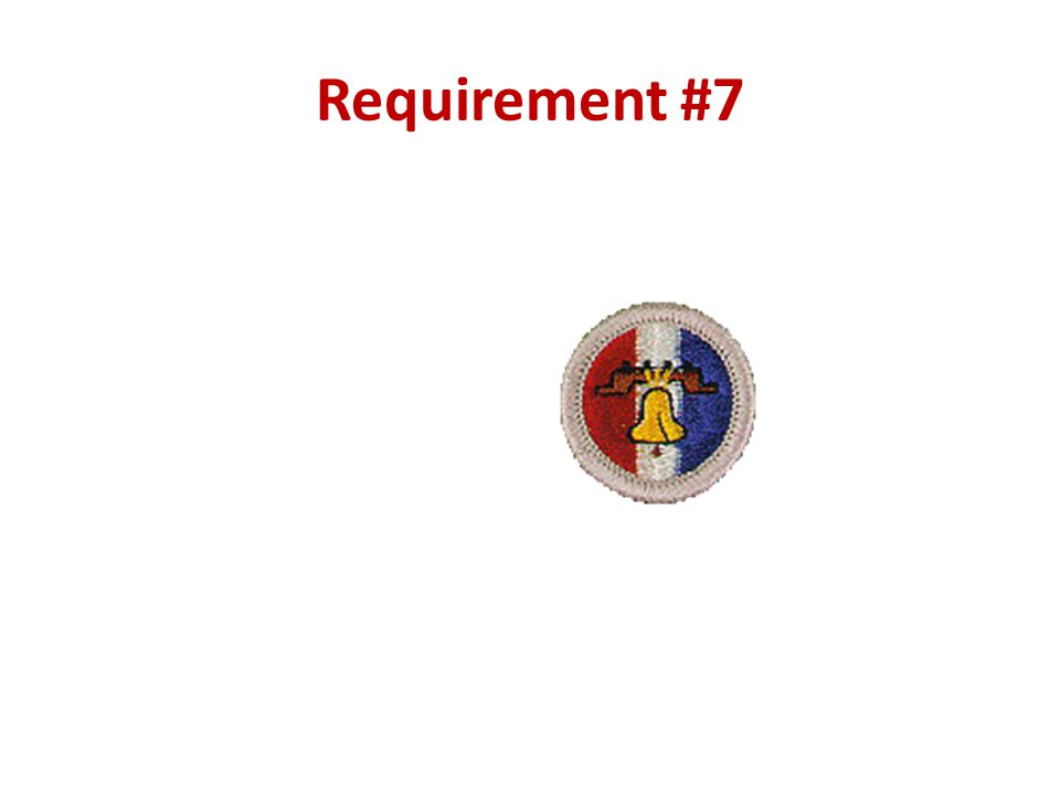 Requirement #7