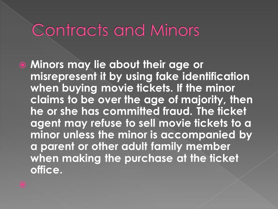  Three types of Contracts circumvent this rule: 1.