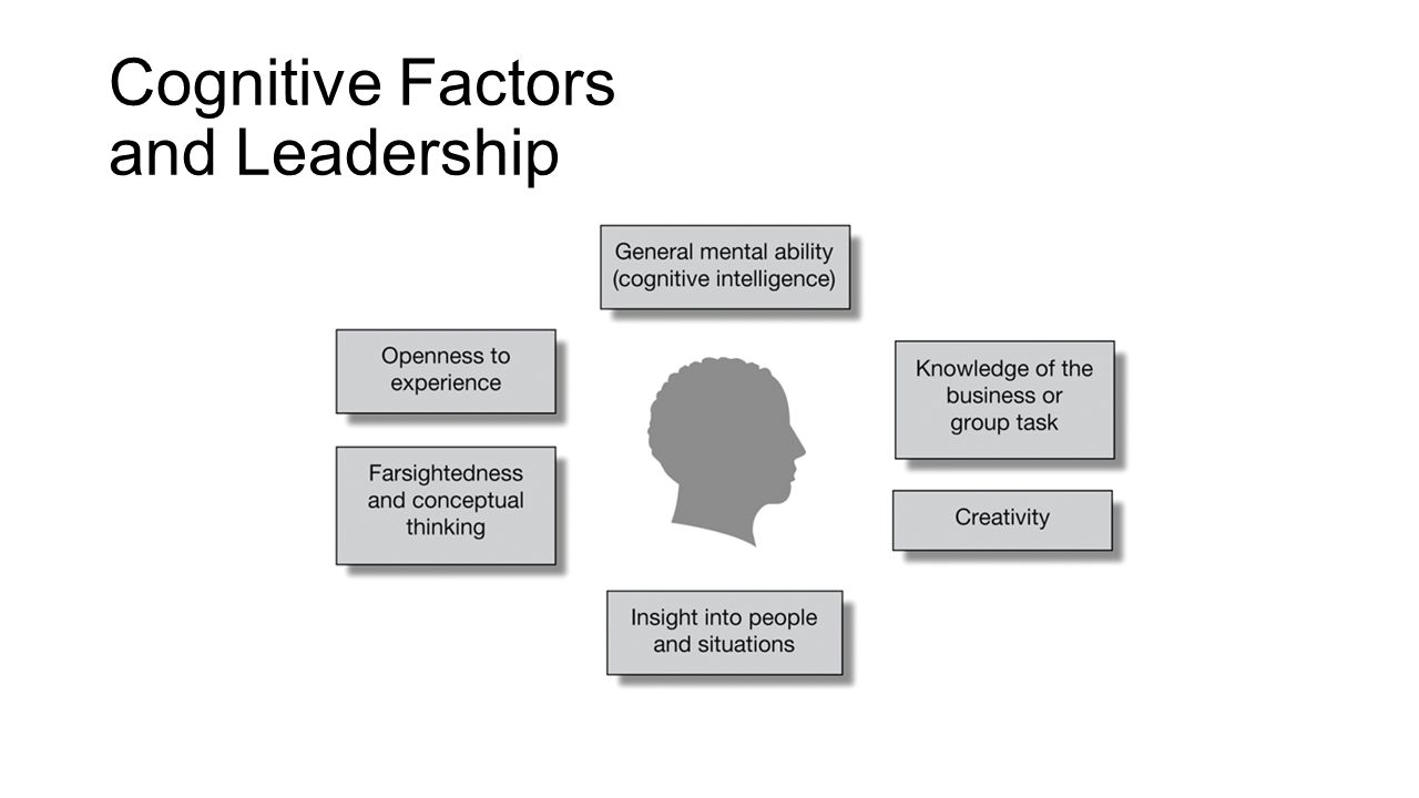 Cognitive Factors and Leadership