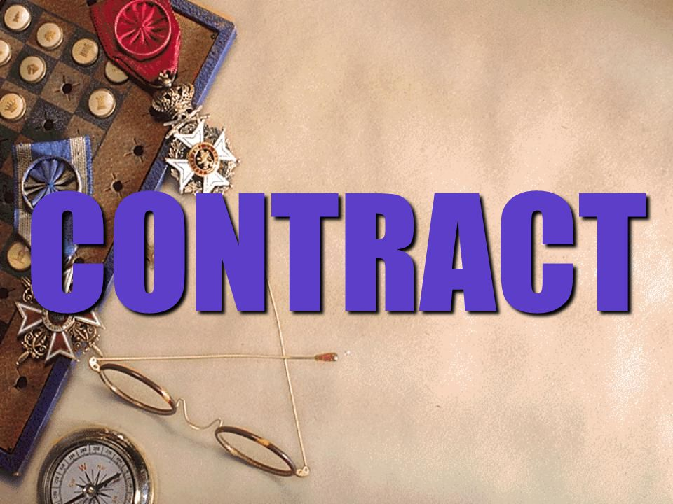 CONTRACT - According to sec.2(h), a contract is defined as an agreement enforceable before the law.