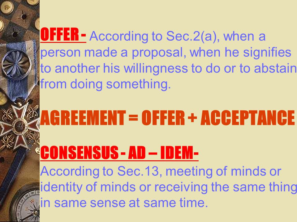 Rules governing minors agreement  Rule 1 : judges are counsellors, jury is the servant, law is the guardian.