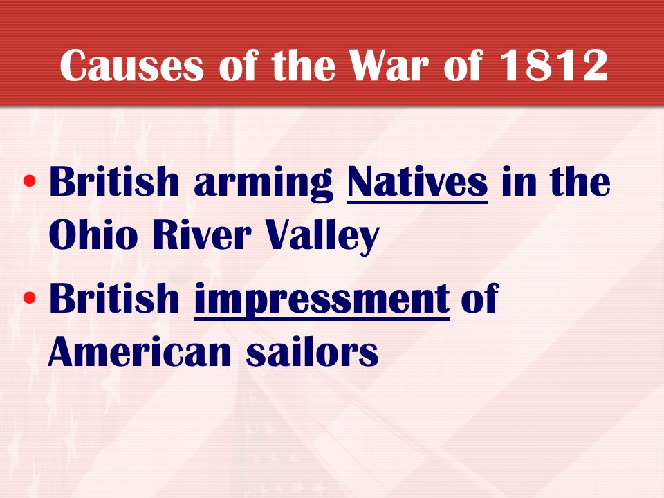 The War of 1812 Part 4