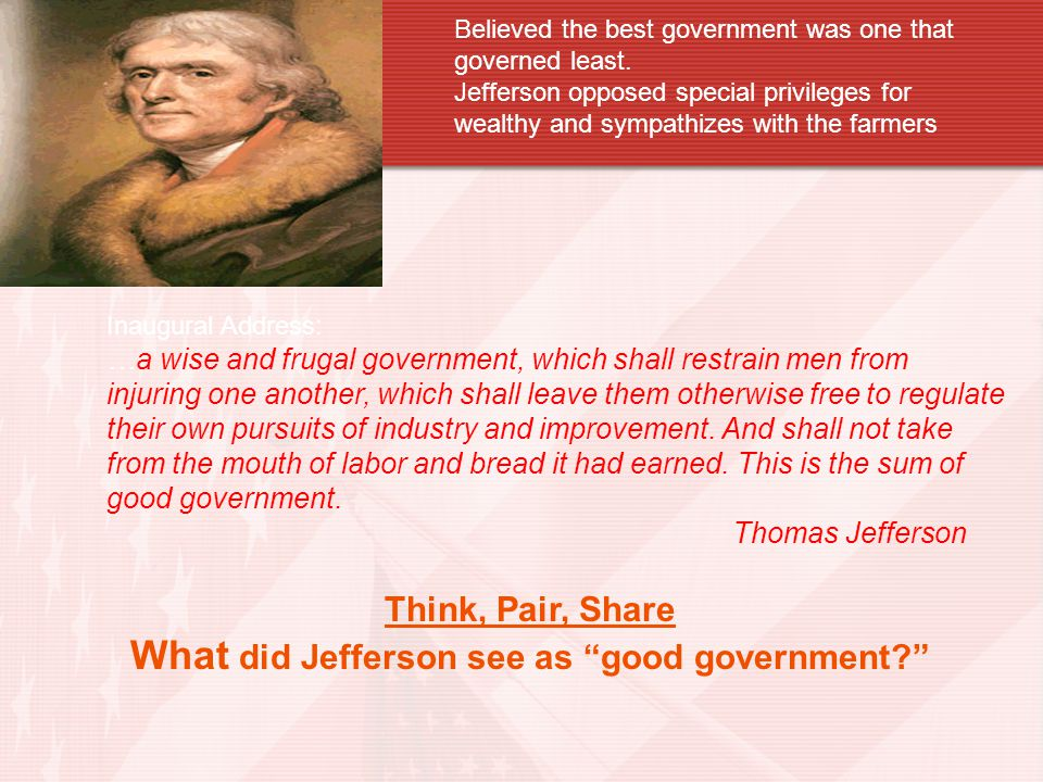 Thomas Jefferson His Legacy