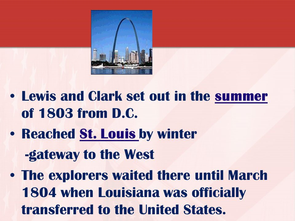 ACTIVITY Each student will create an advertisement for support for the Lewis and Clark Expedition. Include a picture and 2 sentences! Pre-AP must be a