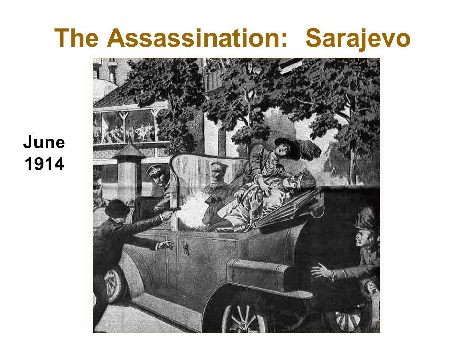 The Assassination: Sarajevo June 1914