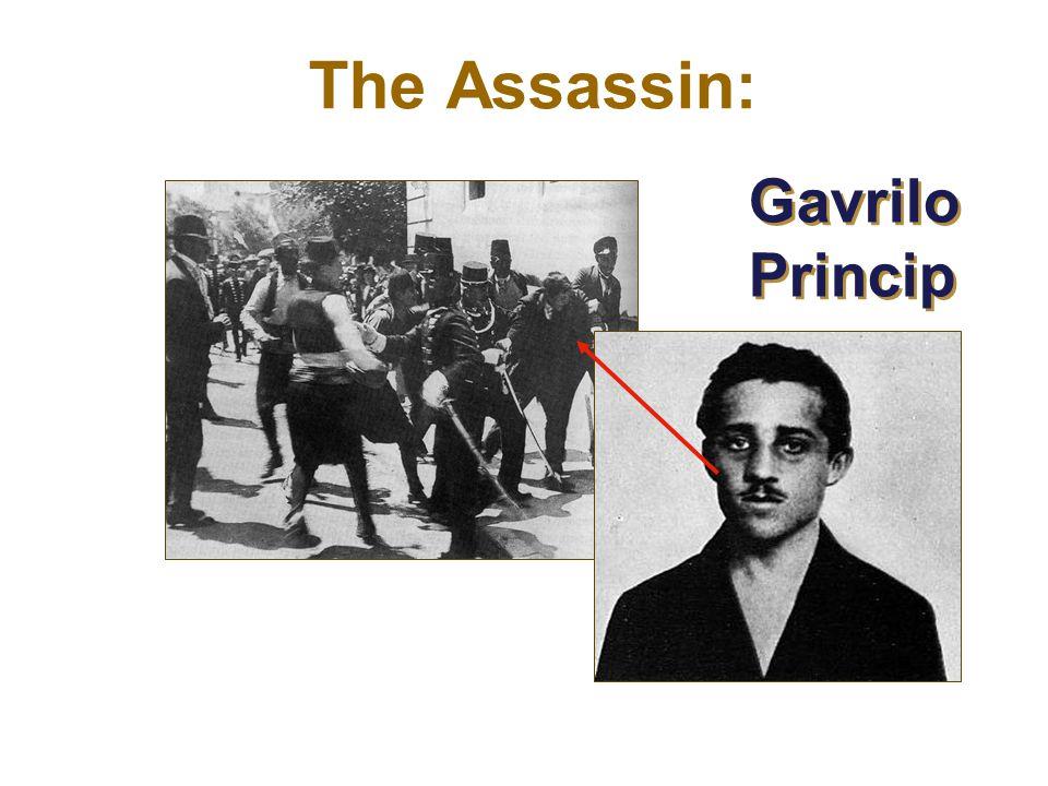 Gavrilo Princip The Assassin: