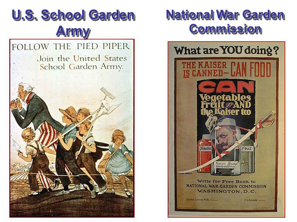National War Garden Commission U.S. School Garden Army