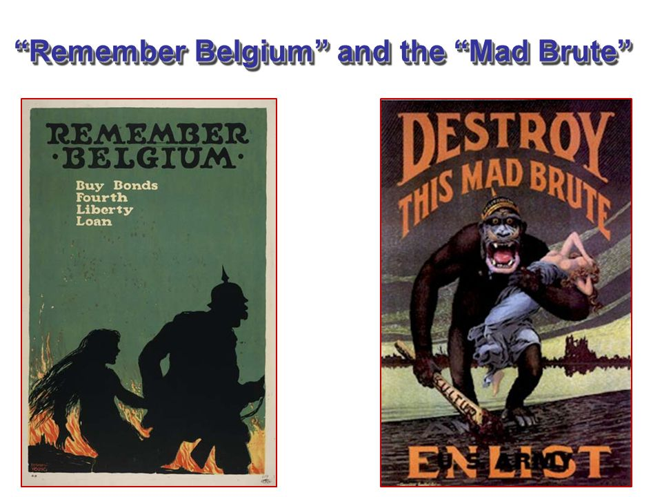 """""""Remember Belgium"""" and the """"Mad Brute"""""""
