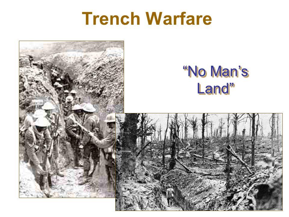 """No Man's Land"" Trench Warfare"