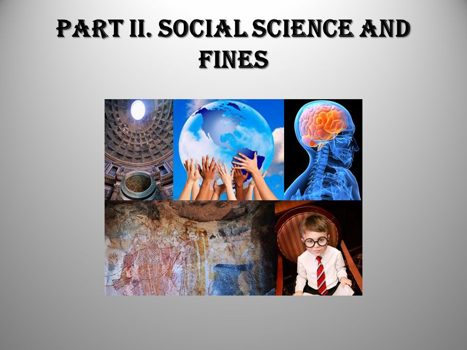 Part II. Social Science and Fines