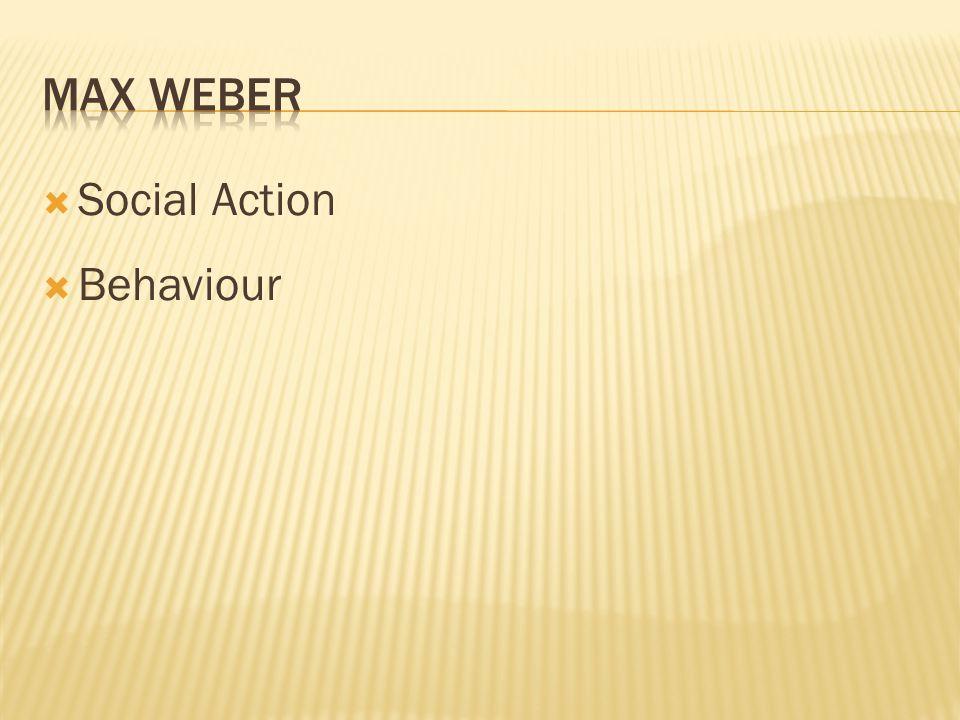  Social Action  Behaviour