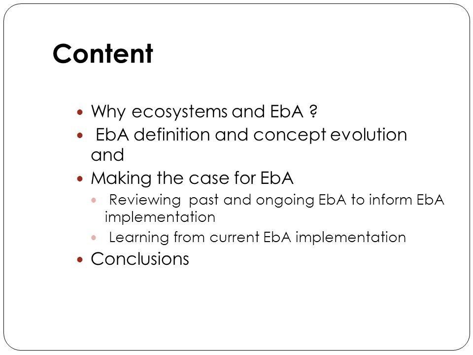 12 Examples of UNEP-LDCF adaptation projects 12 CountryEBA interventionsNon - EBA 1.1.