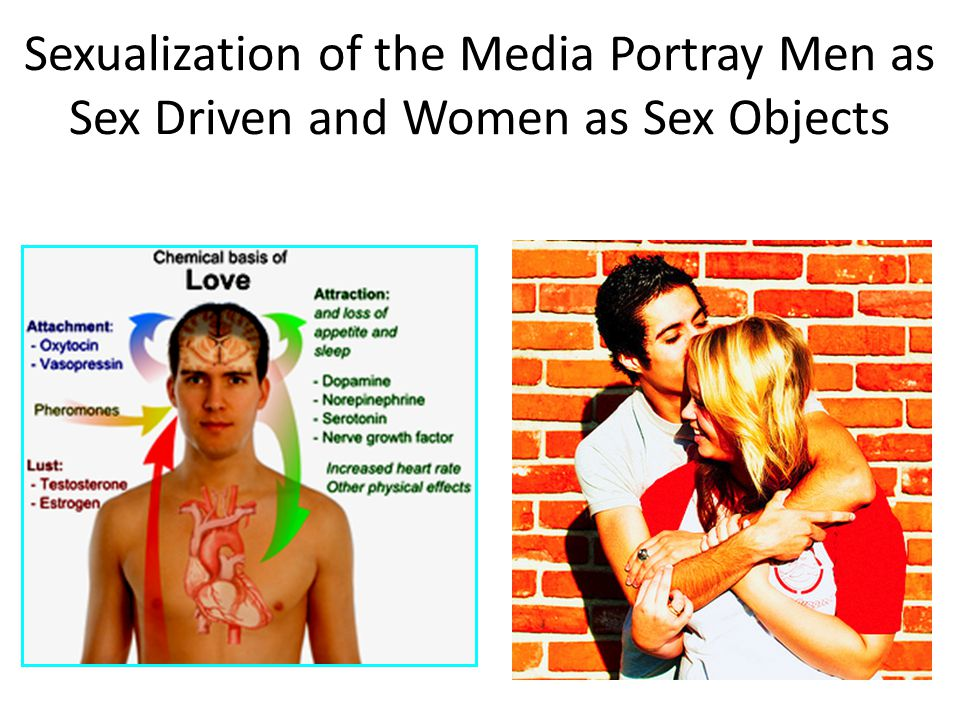 Sexualization of the Media Portray Men as Sex Driven and Women as Sex Objects