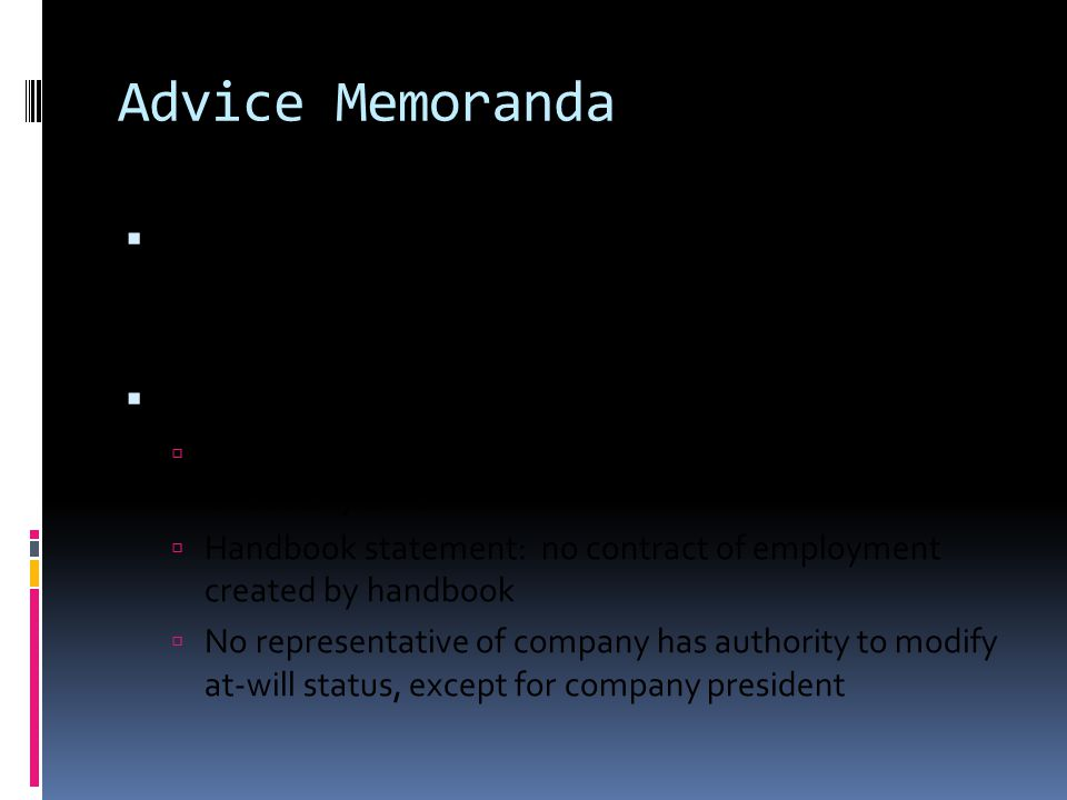 Advice Memoranda  NLRB Advice Memorandum, No.