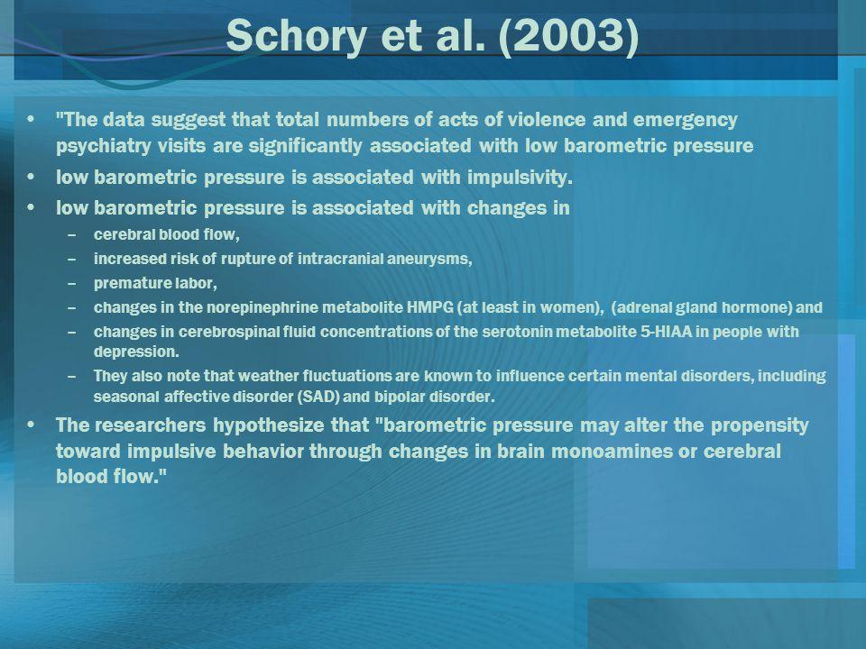 Schory et al. (2003)