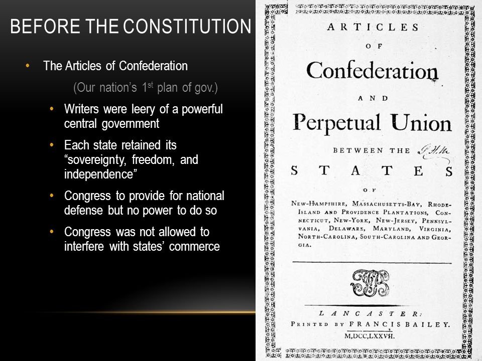 "BEFORE THE CONSTITUTION 2 nd Continental Congress- The Declaration of Independence Locke: inalienable rights- ""natural rights"" Jefferson: (primary aut"