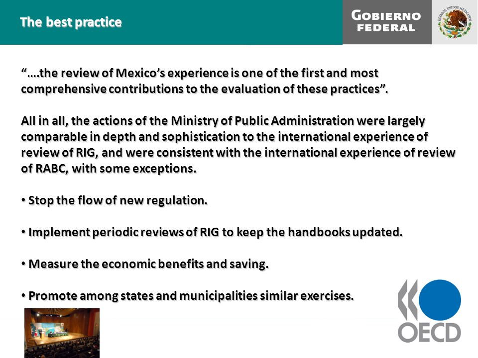 ….the review of Mexico's experience is one of the first and most comprehensive contributions to the evaluation of these practices .