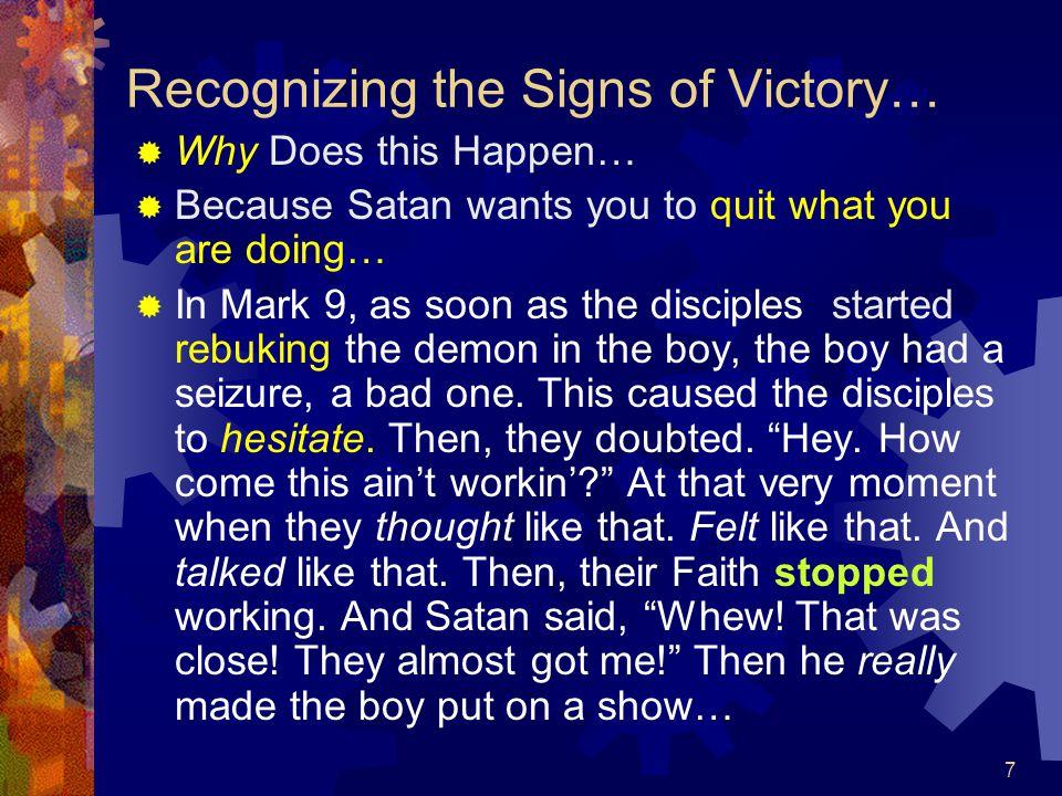  Turn To Mark 9:14-29 M  Followed by Matt.
