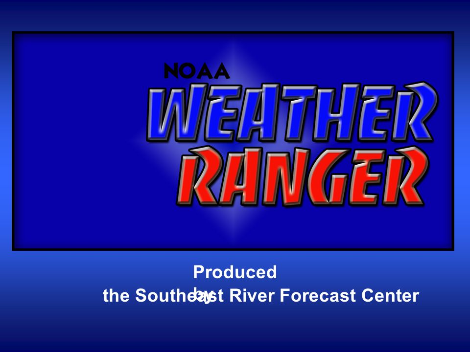 Produced by the Southeast River Forecast Center
