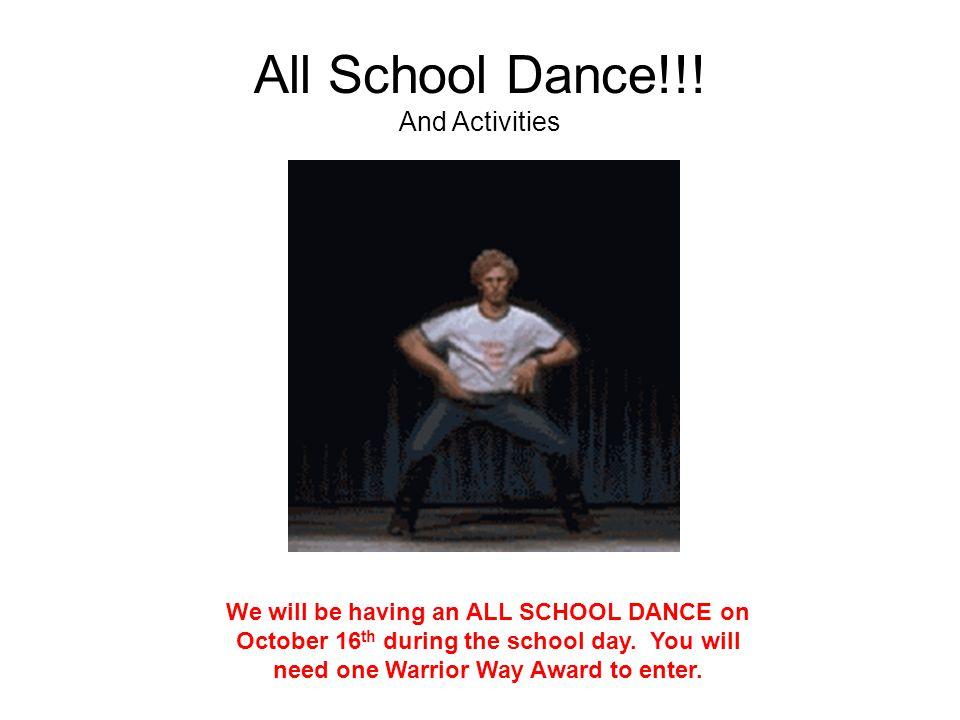 All School Dance!!.