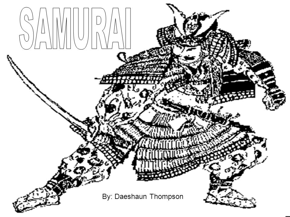 In the Japanese Feudal system the Shogun ruled over the Daimyo who were head of the samurai.