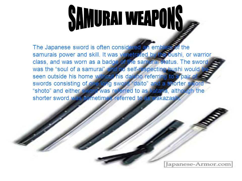 Female Samurai Linguistic purists point out that the term samurai is a masculine word; thus, there are no female samurai. Nonetheless, for thousands of years, certain upper class Japanese women have learned martial skills and participated in fighting.Between the 12th and 19th centuries, many women of the samurai class learned how to handle the sword and the naginata (a blade on a long staff) primarily to defend themselves and their homes.
