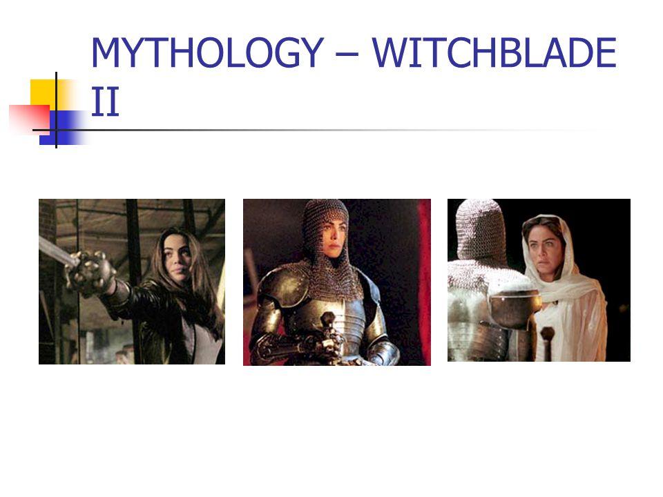 MYTHOLOGY – WITCHBLADE II