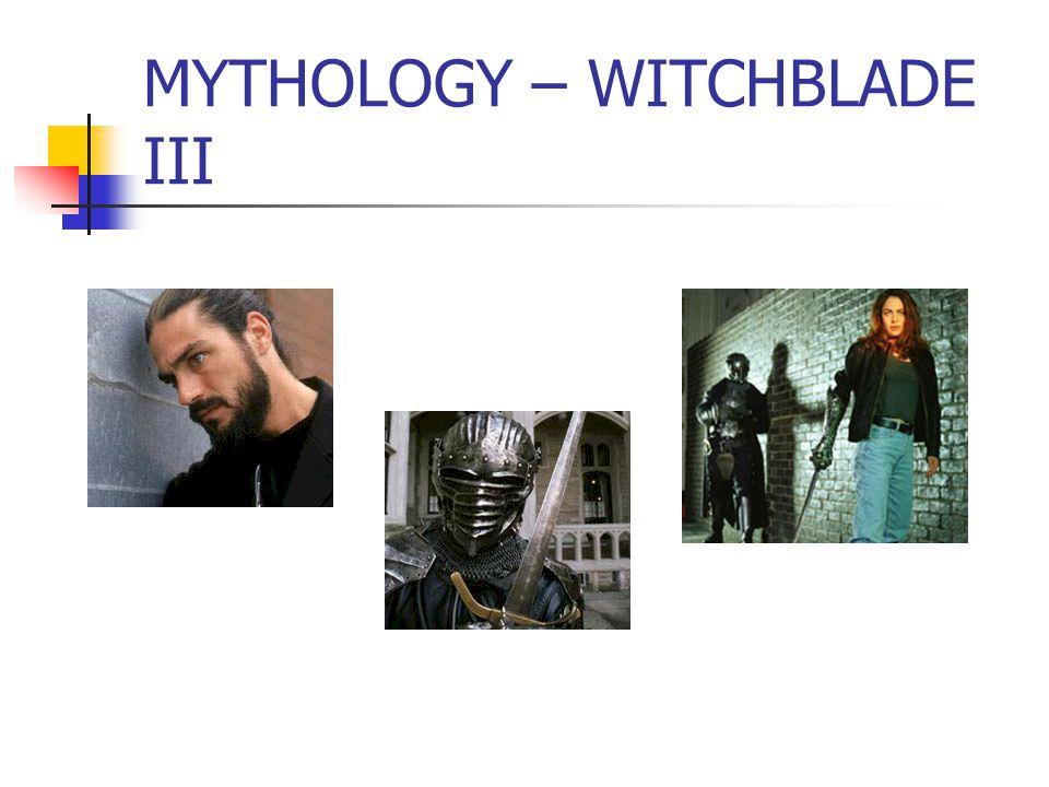 MYTHOLOGY – WITCHBLADE III